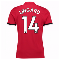Lingard #14 Manchester United Home New Season 2017-2018