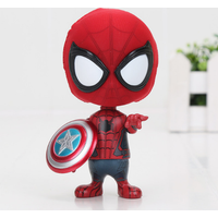 Spiderman with captain america shield  PVC Action Figure Model Toy 4