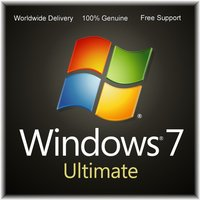 Microsoft Windows 7 Ultimate 32/64bit Genuine License Key Product Code