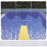 David Hockney-Day Pool with Three Blues-2000 Poster