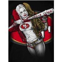San Francisco 49ers Harley Quinn      2.5 x 3.5 Fridge Magnet