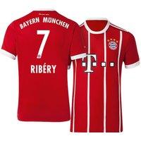 All New Franck Ribery #7 Bayern Munchen Home 2017-2018 Men Soccer Jersey