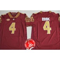 4 Dalvin Cook - Florida State Seminoles Football Stitched Jersey #red