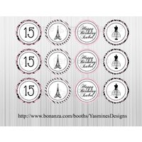 paris-french-themed-cupcake-toppers-printable-custom-birthday-baby-shower