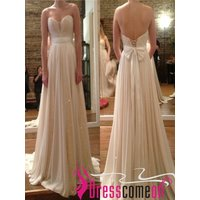 a-line-sweetheart-ivory-sequins-wedding-dress-chiffon-wedding-bridal-gown