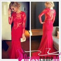 elegant-mermaid-long-sleeves-red-lace-gown-long-prom-dresses-sexy-red-prom-dress