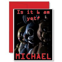 personalized-birthday-greeting-card-new-full-color-fnaf-five-night-at-freddy