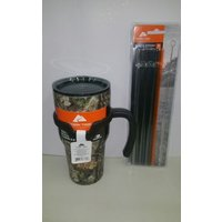 new-mossy-oak-ozark-trail-30oz-stainless-steel-tumbler-with-handle-4-pk-straws
