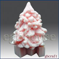 3D Silicone Soap/Candle Mold - Decorative Christmas Tree-buy from original maker