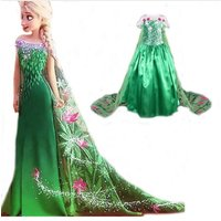 new-green-elsa-costumes-girls-dresses-cosplay-party-dress-princess-anna-costumes