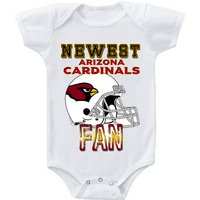 new-cute-funny-baby-one-piece-bodysuit-football-newest-fan-nfl-arizona-cardinals