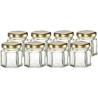 cafe-cubano-small-mini-hexagon-glass-jars-15-oz-perfect-storing-honey-jam