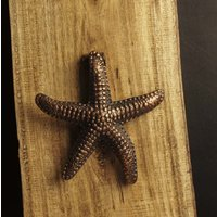casa-decor-antique-star-fish-shape-metal-door-knocker