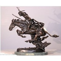 The Cheyenne Solid Bronze Lost Wax Sculpture by Frederic Remington Jumbo