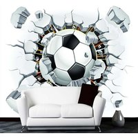 hot-3d-soccer-wallpaper-football-wallpaper-custom-wall-mural-three-dimensional