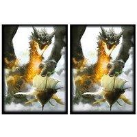 100 Ambush Dragon Deck Protectors Max Protection Shuffle Tech Art Sleeves 2-Pack