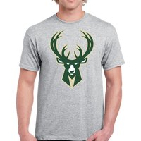 00578 BASKETBALL NBA Milwaukee Bucks Unisex T-Shirt