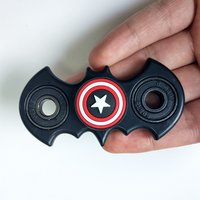 Batman Fidget Spinner Toy | Captain America Hand Spinner
