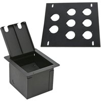 elite-core-recessed-stage-floor-box-wprepunched-8-d-holes-plate-black-metal
