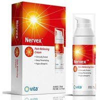 1.7 Oz Nervex Hypoallergenic Neuropathy Pain Relief Cream Treatment w/ Vitamins