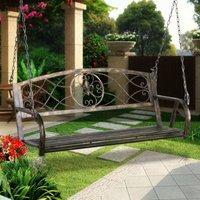 fleur-de-lis-iron-patio-hanging-porch-swing-chair-bench-seat-garden-furniture