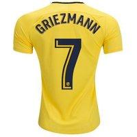 All New Antoine Griezmann #7 Atletico Madrid Away 2017-2018 Men Soccer Jersey