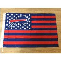 Buffalo Bills Blue/red Usa American Patriotic 3