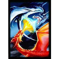 100 Fighting Dragons Deck Protectors Max Protection Shuffle Tech Art Sleeves 2-P