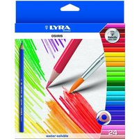 24-x-lyra-osiris-water-soluble-colouring-pencils-with-brush-triangular-shape
