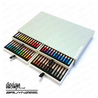 Bruynzeel Design - High Quality and Durable - Pastel Pencils - Artist Box of 48