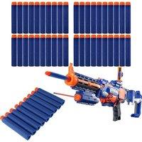 50PCS Refill Bullet Darts for Nerf N-strike Elite Series Blasters Toy Gun - Blue