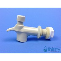 beige-almond-water-faucet-spigot-replacement-reid-valve-34-dispenser-crock