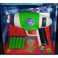 Disney Toy Story - Buzz Lightyear's Foam Nerf Gun Blaster w/ Lights & Sounds