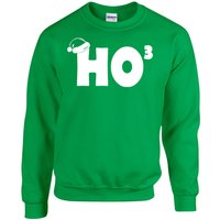 ho-ho-ho-cubed-funny-christmas-xmas-santa-hat-unisex-crew-sweatshirt-652