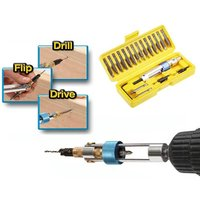 Half Time Drill Driver Multi Screwdriver Sets Updated version 16 different kinds