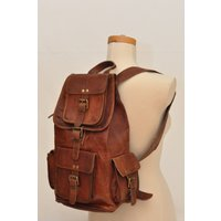 mens-brown-leather-backpack-bags-shoulder-briefcase-rucksack-laptop-vintage-bag
