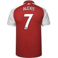 Alexis Sanchez #7 Arsenal 2017/18 Home Men Jersey