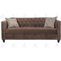american-eagle-ae2602-brown-fabric-tufted-sofa