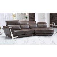american-eagle-ek-l696-db-dark-brown-sofa-chaise-lhc-2pcs