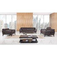 american-eagle-ek063-db-chocolate-sofa-loveseat-chair-set-italian-leather-3pcs