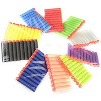 50 x Refill Bullet Darts Nerf N-strike Blasters For Toy Gun - Random Color