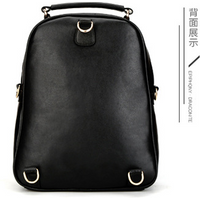 Free Shipping Leather Backpacks Fashion New School Bookbags K315-1