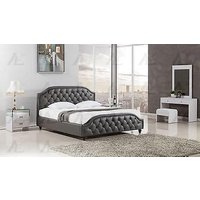 american-eagle-bd058-dgray-queen-size-bed-leather-air-fabric-tufted-headboard