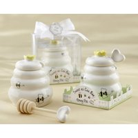 12-sweet-as-can-bee-ceramic-honey-pot-with-wooden-dipper-baby-shower-favors