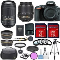 nikon-d5500-camera-multi-lens-bundle-w18-55mm-vr55-300mm-vrmacro-kitextras