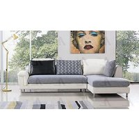 american-eagle-ae-l343r-white-grey-leather-right-hand-chase-sofa-set-2pcs
