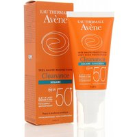 Avene Cleanance Solaire Sun Screen Spf 50+ For Oily Blemish Prone Skin Oil Free