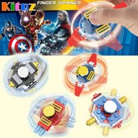 4pcs Super Hero Avenger Buildable Finger Spinner Batman Ironman Captain America