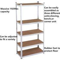 heavy-duty-steel-5-level-garage-shelf-metal-storage-adjustable-shelves-unit-rack