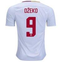 All New Edin Dzeko #9 As Roma Away 2017-2018 Men Soccer Jersey